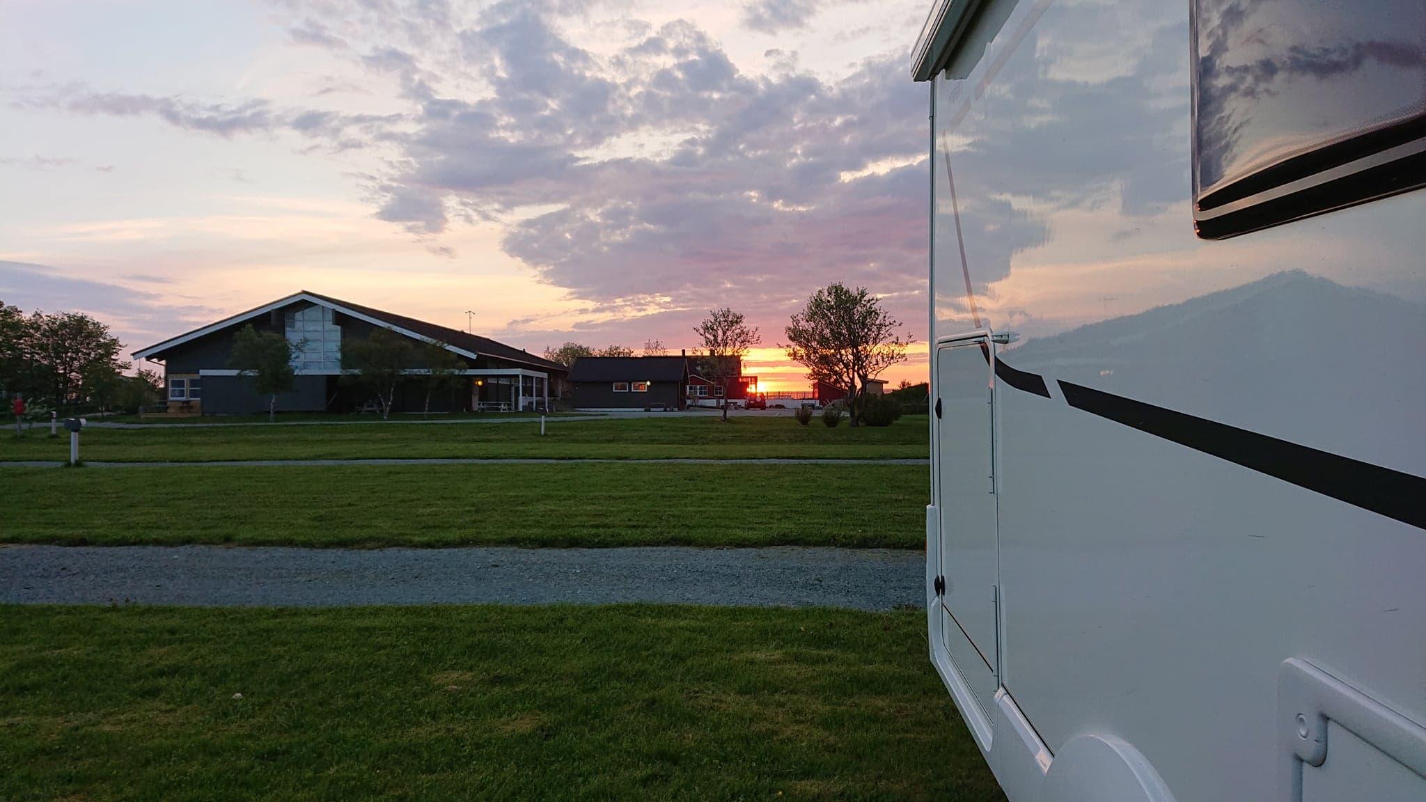 Utsikt mot solnedgang / view to sunset